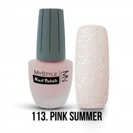 MyStyle Körömlakk - 113. - Pink Summer - 15ml