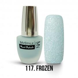 MyStyle Körömlakk - 117. - Frozen Blue - 15ml
