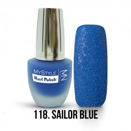 MyStyle Körömlakk - 118. - Sailor Blue - 15ml