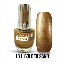 MyStyle Körömlakk - 131. - Golden Sand - 15ml
