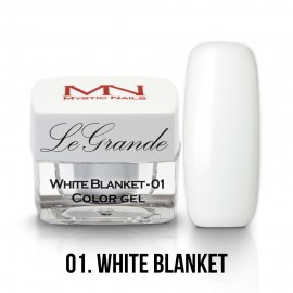 LeGrande Color Gel - no.01. - White Blanket - 4g