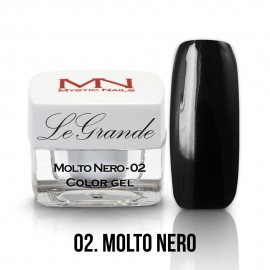 LeGrande Color Gel - no.02. - Molto Nero - 4g