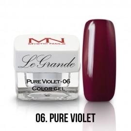 LeGrande Color Gel - no.06. - Pure Violet - 4g