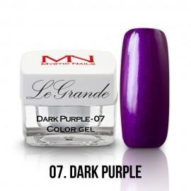 LeGrande Color Gel - no.07. - Dark Purple - 4g