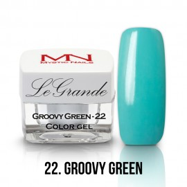 LeGrande Color Gel - no.22. - Groovy Green - 4g