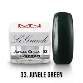 LeGrande Color Gel - no.33. - Jungle Green - 4g