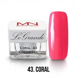 LeGrande Color Gel - no.43. - Coral - 4g
