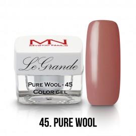 LeGrande Color Gel - no.45. - Pure Wool - 4g