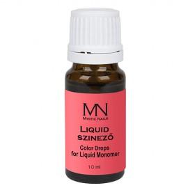 Liquid színező - piros - 10ml