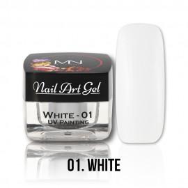 UV Festő Színes Zselé - 01 - White