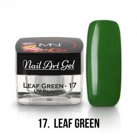 UV Festő Színes Zselé - 17 - Leaf Green - 4g