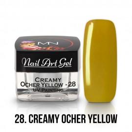UV Festő Színes Zselé - 28 - Creamy Ocher Yellow - 4g