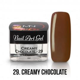 UV Festő Színes Zselé - 29 - Creamy Chocolate - 4g