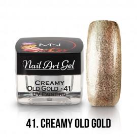 UV Festő Színes Zselé - 41 - Creamy Old Gold - 4g