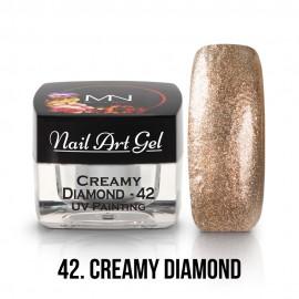 UV Festő Színes Zselé - 42 - Creamy Diamond - 4g