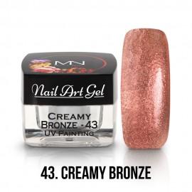 UV Festő Színes Zselé - 43 - Creamy Bronze - 4g
