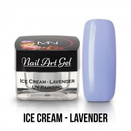 UV Festő Színes Zselé - Ice Cream - Lavender - 4g
