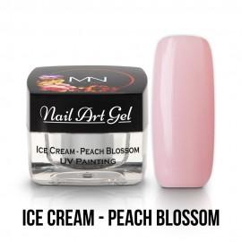 UV Festő Színes Zselé - Ice Cream - Peach Blossom - 4g