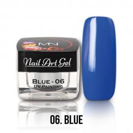 UV Festő Színes Zselé - 06 - Blue - 4g