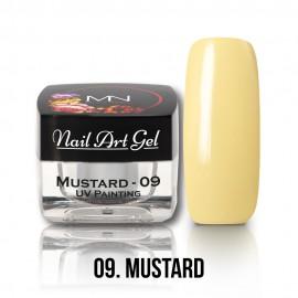 UV Festő Színes Zselé - 09 - Mustard - 4g
