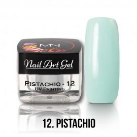 UV Festő Színes Zselé - 12 - Pistachio - 4g