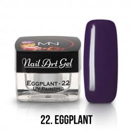 UV Festő Színes Zselé - 22 - Eggplant - 4g