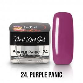 UV Festő Színes Zselé - 24 - Purple Panic  - 4g