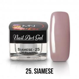 UV Festő Színes Zselé - 25 - Siamese - 4g