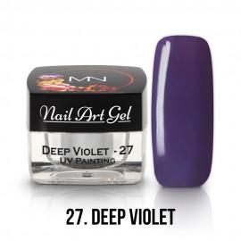 UV Festő Színes Zselé - 27 - Deep Violet  - 4g