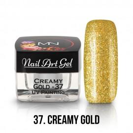 UV Festő Színes Zselé - 37 - Creamy Gold - 4g