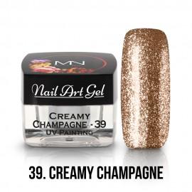 UV Festő Színes Zselé - 39 - Creamy Champagne - 4g