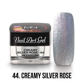 UV Festő Színes Zselé - 44 - Creamy Silver Rose - 4g