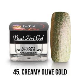 UV Festő Színes Zselé - 45 - Creamy Olive Gold - 4g