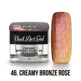 UV Festő Színes Zselé - 46 - Creamy Bronze Rose - 4g
