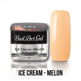 UV Festő Színes Zselé - Ice Cream - Melon - 4g