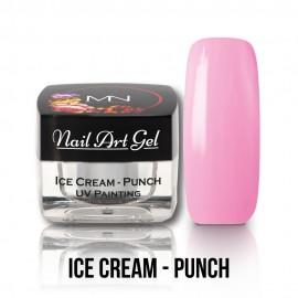 UV Festő Színes Zselé - Ice Cream - Punch - 4g