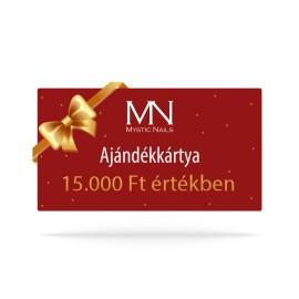 Ajándékutalvány - 15000 Ft értékben