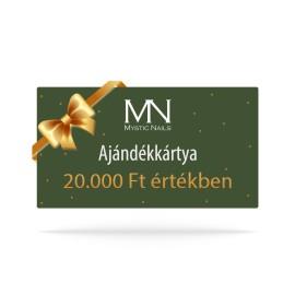 Ajándékutalvány - 20000 Ft értékben