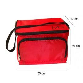 MN logós Hűtőtáska - piros