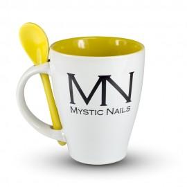 MN logós Bögre - citrom sárga