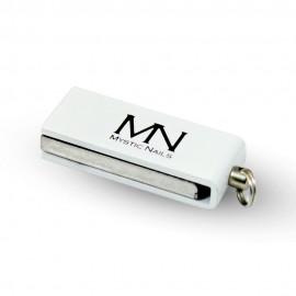 MN logós USB Pendrive - Fehér
