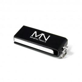 MN logós USB Pendrive - Fekete