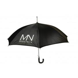 MN logós esernyő - fekete