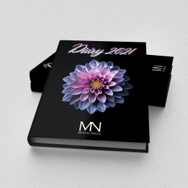 Mystic Nails Határidőnapló - 2021 - fekete (HU/EN)