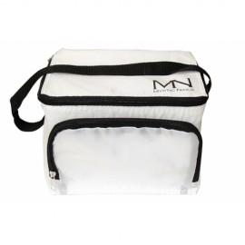 MN logós Hűtőtáska - fehér