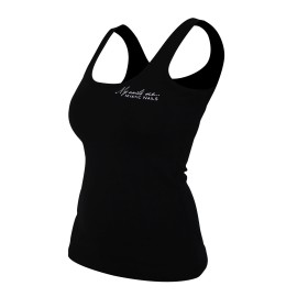 MN Glamour Black Top - L