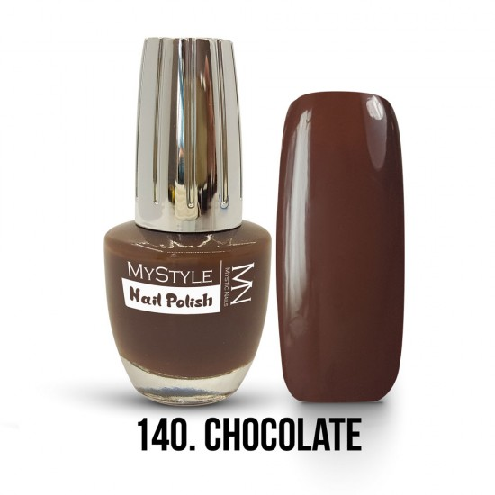MyStyle Körömlakk - 140. - Chocolate - 15ml