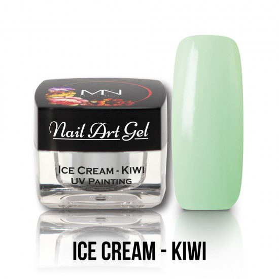 UV Festő Színes Zselé - Ice Cream - Kiwi - 4g